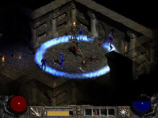 frostnova01 - Isendra, D2 Sorceress Hero Concept.