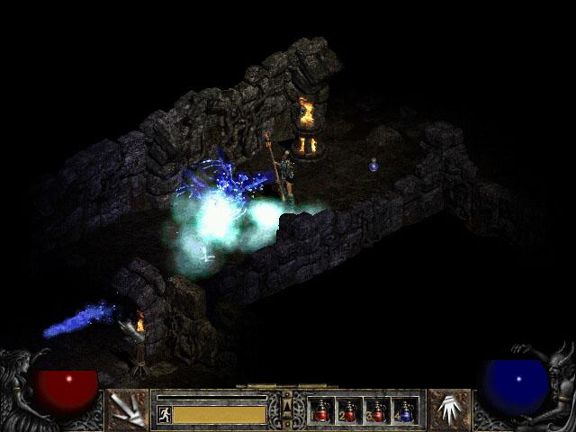 glacierspike02 - Isendra, D2 Sorceress Hero Concept.