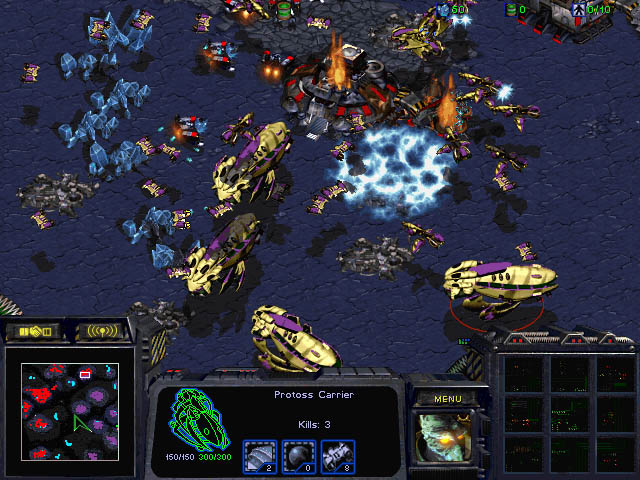 Starcraft Brood War Protoss Units