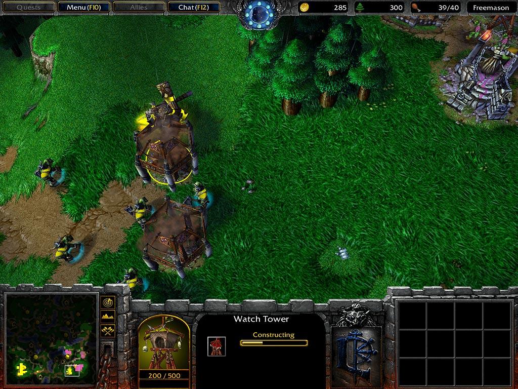 Скриншоты tower defense карт warcraft 3