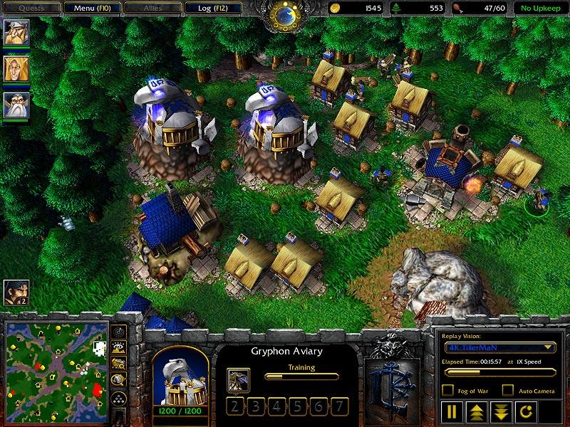 Warcraft Iii Humans Units Gryphon Rider
