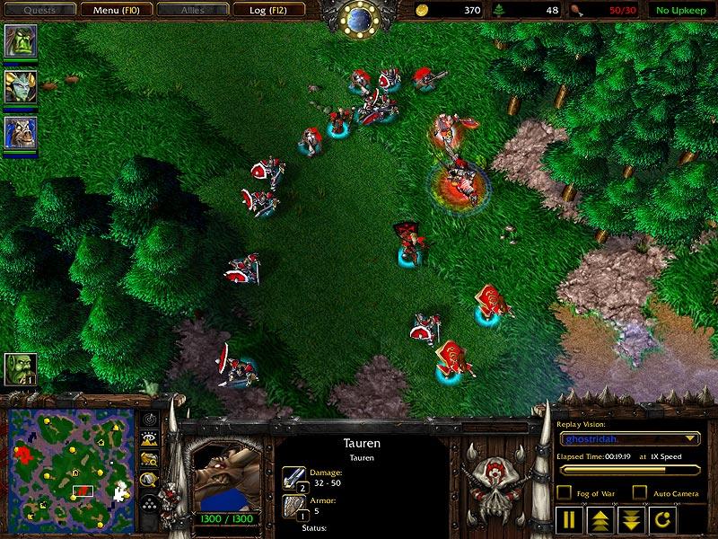 Warcraft III - Humans -> Units -> Footman