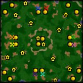 What is the best Warcraft - Melee Map? Friends