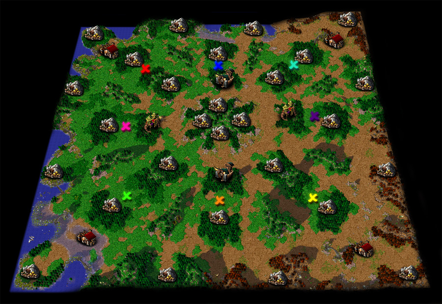 Warcraft III Maps Warcraft III The Frozen Throne Ladder Map Pictures