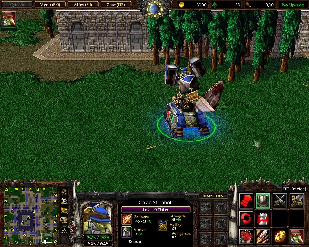 Warcraft Iii Neutral Neutral Heroes Goblin Tinker