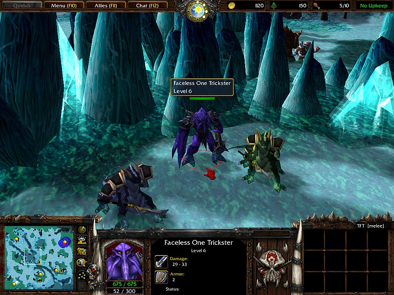 Warcraft Iii Neutral Gt Creeps Gt Faceless Ones