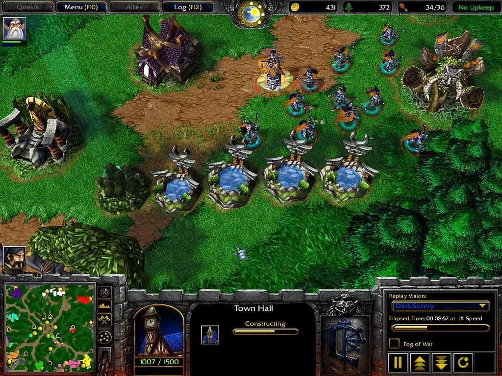Warcraft III - Night Elves -> Basics
