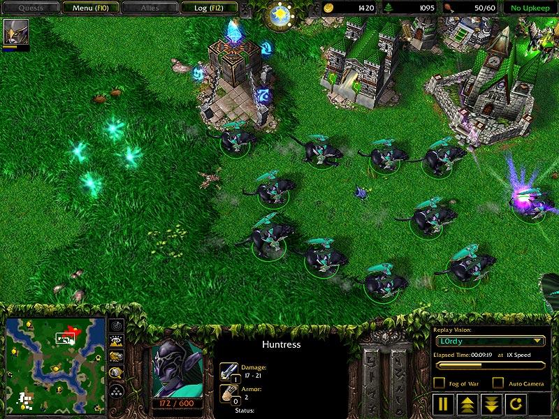 Warcraft Iii Night Elves Advanced